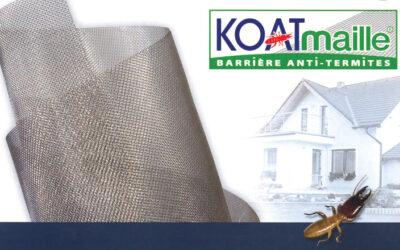 Koatmaille® : la barrière préventive anti-termites